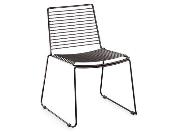 Black Wire Designer Chair