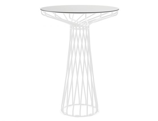 Wire High Bar Table