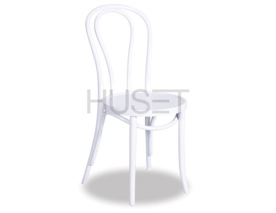 White Bentwood Chair Thonet