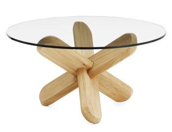 Oak Ding Coffee Table by Ding3000 for Normann Copenhagen image