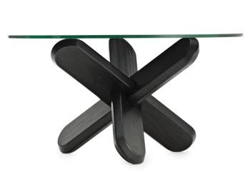 Black Ding Coffee Table by Ding3000 for Normann Copenhagen image