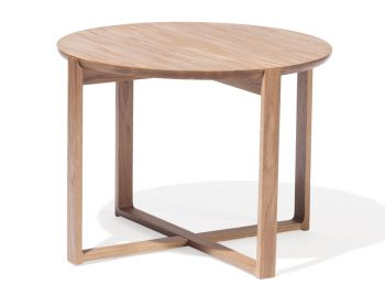Medium Delta Natural Solid Oak Coffee Tables by Kai Stania for TON image