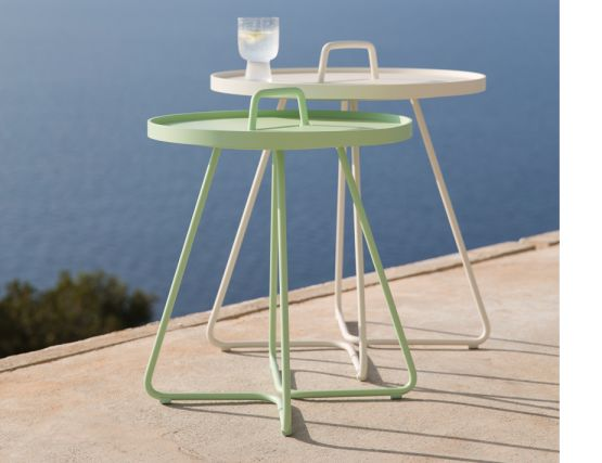 Green Side Table Outdoor