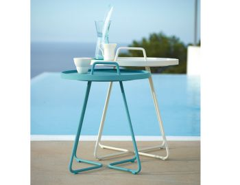 Turquoise On the Move Side Table By Strand & hvass For Cane-line image