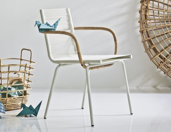 White Sidd Chair