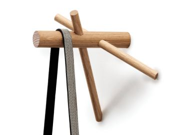 Sticks Hooks Nature (set of 2) by Benoit Deneufbourg Normann Copenhagen image