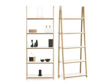 One Step Up High Bookshelf by Francis Cayouette for Normann Copenhagen image