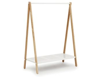 White Large Toj Clothes Rack by Simon Legald for Normann Copenhagen image