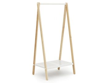 White Small Toj Clothes Rack by Simon Legald for Normann Copenhagen image