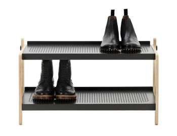 Grey Sko Shoe Rack by Simon Legald for Normann Copenhagen image
