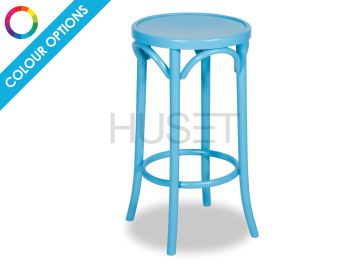 Custom 68cm Paris Bentwood Counter Stool by Micheal Thonet  image
