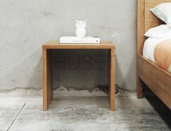 Boston Solid Oak 50cm Bench Seat by Bent Design image