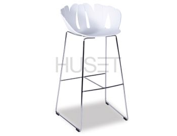 White Daisy Bar Stool by Enrique Marti for OOLand image