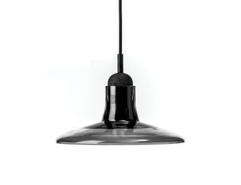 Solo PC895 Opaque Smoke Grey Shadows Pendant by Dan Yeffet and Lucie Koldova for Brokis image