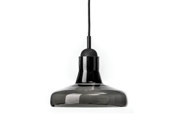 Solo PC894 Opaque Smoke Grey Shadows Pendant by Dan Yeffet and Lucie Koldova for Brokis image