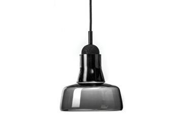 Solo PC896 Opaque Smoke Grey Shadows Pendant by Dan Yeffet and Lucie Koldova for Brokis image