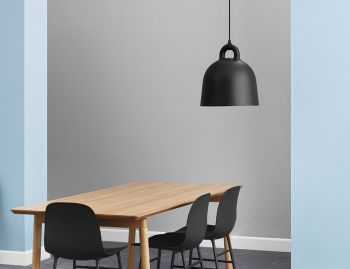 Black Bell Pendant Lamp by Andreas Lund & Jacob Rudbeck for Normann Copenhagen image