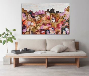 Bush Dreams 150x100cm Oil Paint on Canvas Original Painting by Marinka Parnham image