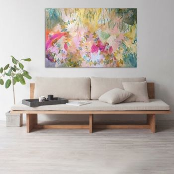 Banksia Forest 150x100cm Acrylic Paint on Canvas Original Painting by Marinka Parnham image