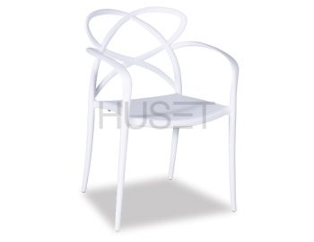 White Mucha Stackable Armchair by Enrique Marti for OOLand image