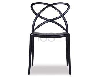 Black Mucha Stackable Chair by Enrique Marti Associates for OOLand image