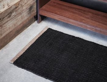 Nest Weave Charcoal Entrance Door Mat by Armadillo&Co image
