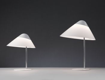 Opala Table Lamp White by Hans Wegner for Pandul image