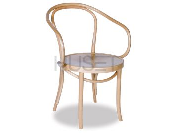 B9 Cava Natural Bentwood Armchair by Le Corbusier image