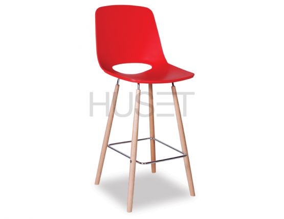 Wasosky Stool Red