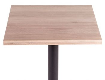 Australian Made Solid Vic Ash Square Timber Cafe Table Top (Min order 5) image