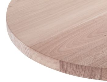 Mantra Round Australian Made Solid Vic Ash Timber Cafe Table Tops  image