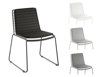 Velletri Chair Magnetic Removable Indoor / Outdoor Terylene Cushion - Various Colours image