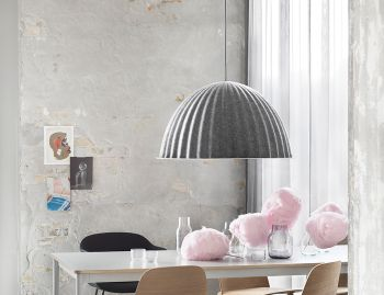 Under The Bell Grey Pendant by Iskos Berlin for Muuto image