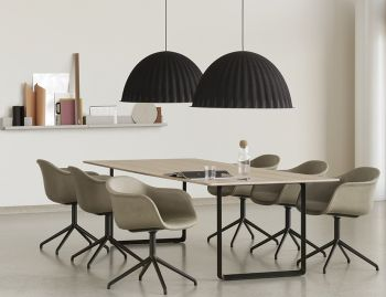 Under The Bell Black Pendant by Iskos Berlin for Muuto image