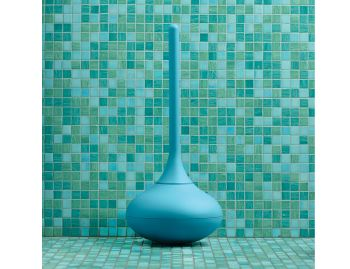 Blue Ballo Toilet Brush by Jozeph Forakis for Normann Copenhagen image