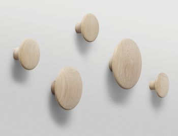 Oak The Dots (Set of 5) by Lars Tornoe for Muuto  image