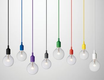 E27 Bulb Pendant Light by Mattias Stahlbom for Muuto  image