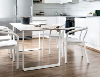 White 70/70 Table by TAF Architects for Muuto image