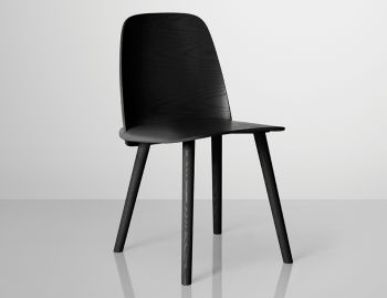 Nerd Chair Black by David Geckeler for Muuto  image