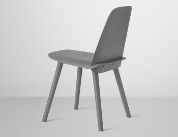 Nerd Chair Dark Grey by David Geckeler for Muuto  image