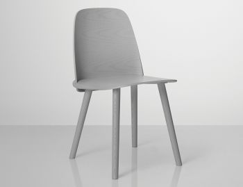 Nerd Chair Light Grey by David Geckeler for Muuto  image