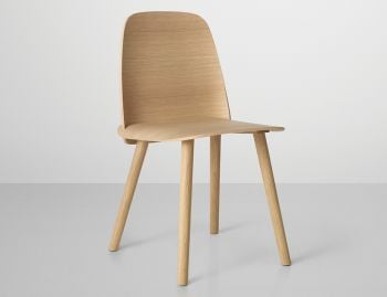 Nerd Chair Oak by David Geckeler for Muuto  image