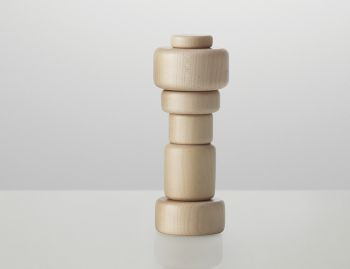 Plus Wood Salt or Pepper Grinder by Norway Says for Muuto  image