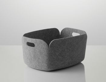 Grey Restore Basket by Mika Tolvanen for Muuto  image