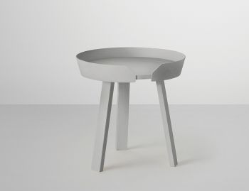 Grey Around Coffee Table Small by Thomas Bentzen for Muuto  image