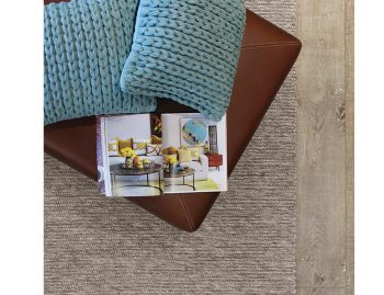 Xylo Natural/Light Grey Flatweave Wool Rug  image