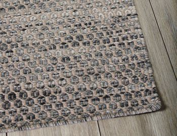Braid Hive Denim Flatweave Wool Rug image