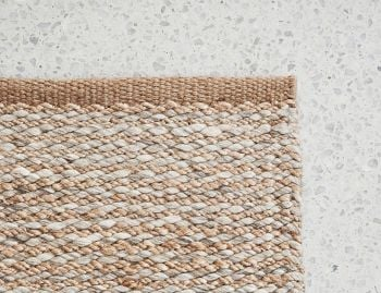 Kalahari Weave Natural and Pumice Rug by Armadillo & Co  image