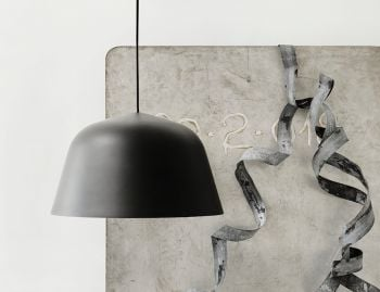 Black Ambit 40cm Pendant by TAF Architects for Muuto  image