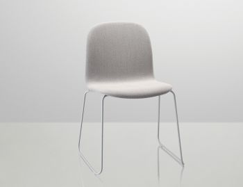 Visu Chair Upholstered with Sled Base by Mika Tolvanen for Muuto  image